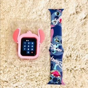 38mm Disney Stitch Apple Watch Band/Cover combo